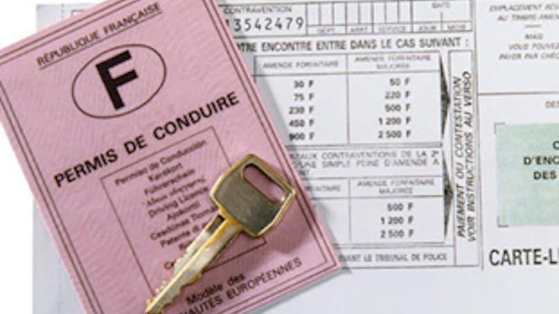 Sanctions sur les permis de conduire