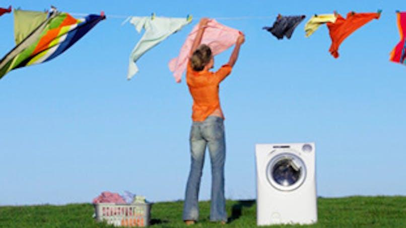 Propreté : linge et vaisselle en machine