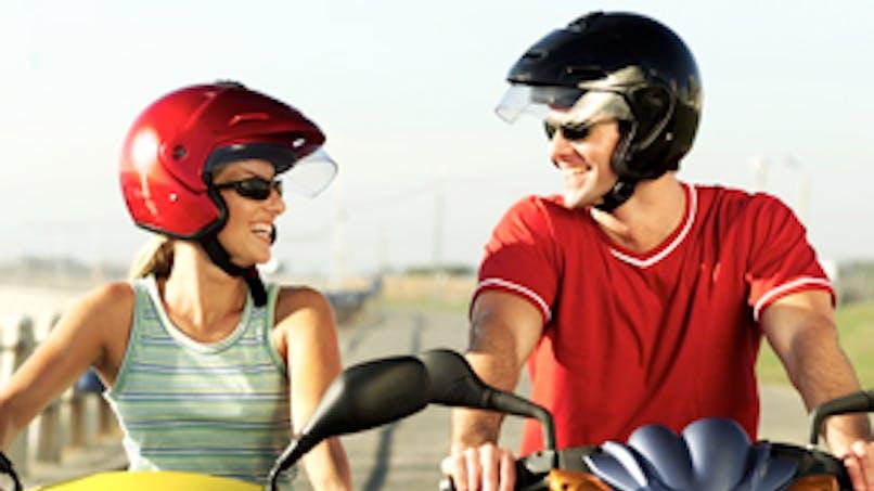 Les règles pour conduire un deux-roues