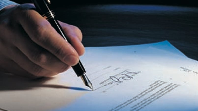 L'acte de vente définitif chez le notaire