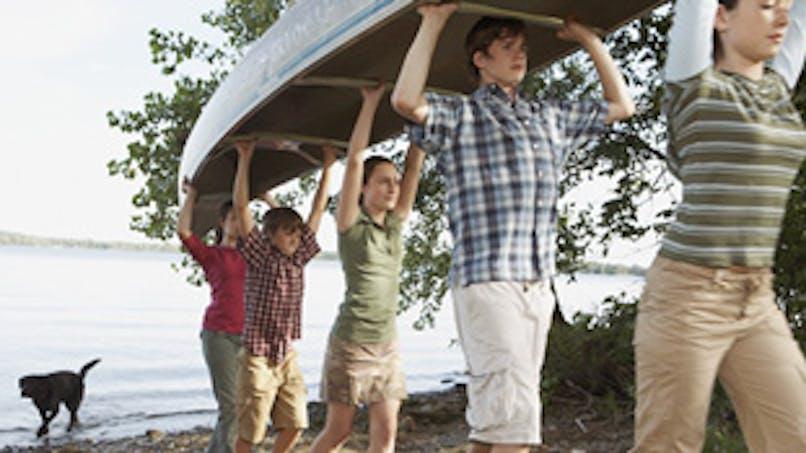 Des vacances en bateau ou en canoë