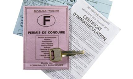 Voiture : le coût du certificat d'immatriculation