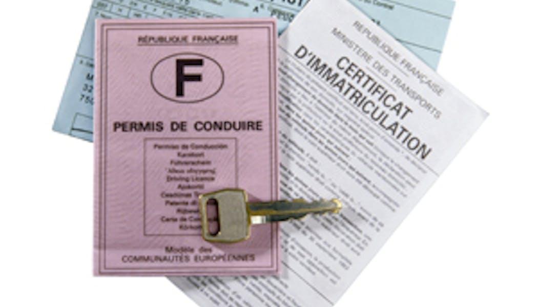 Certificat d'immatriculation (ancienne carte grise)