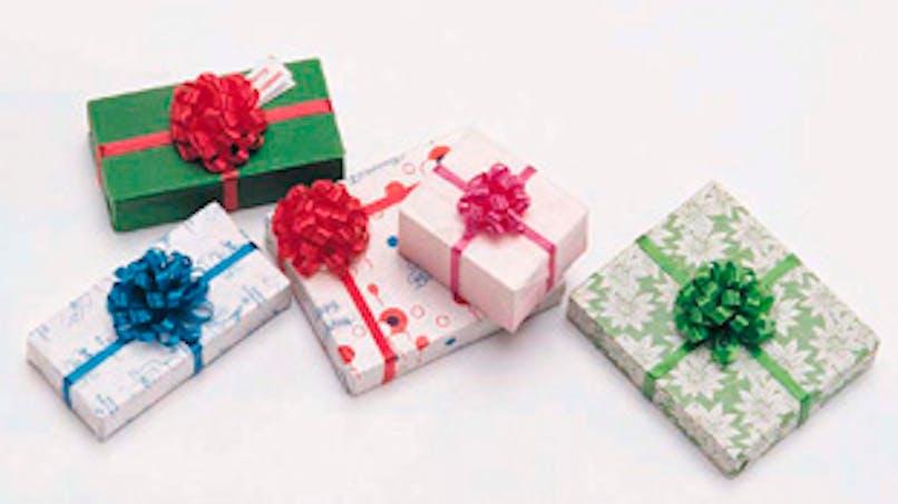 Coffrets cadeaux : soyez prudents à l'achat et à l'utilisation !