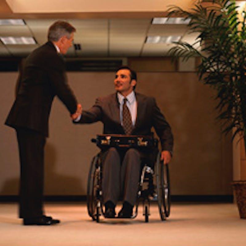 Travailler avec un handicap