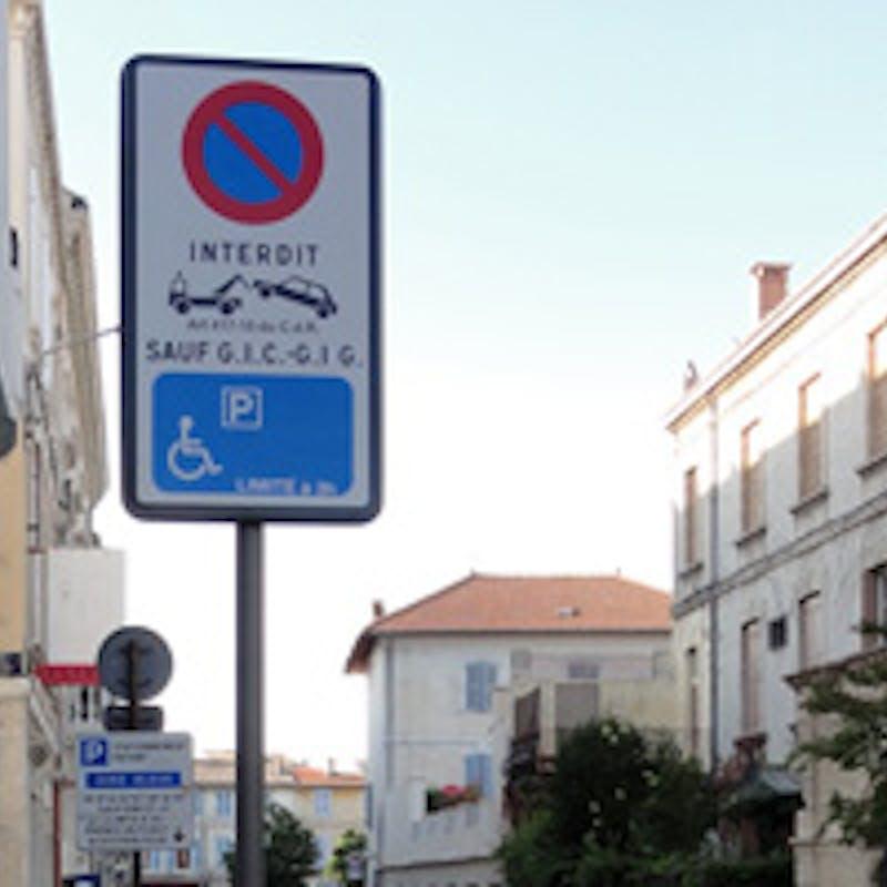 Carte européenne de stationnement pour personne handicapée