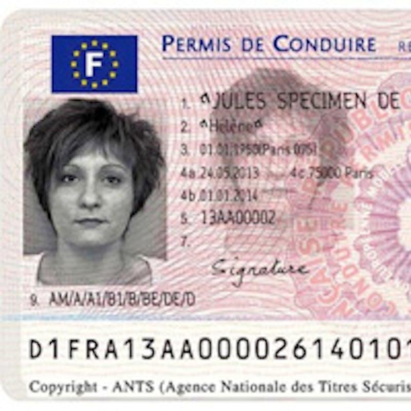 Le permis de conduire à puce électronique