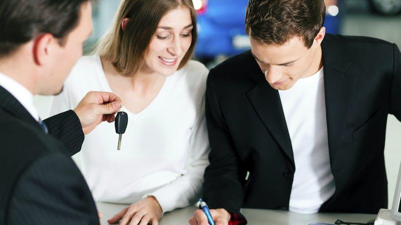 Les formalités lors de l'achat d'une voiture