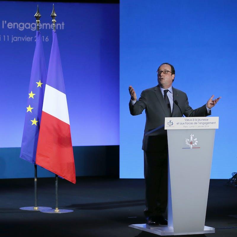 François Hollande veut étendre le service civique à un jeune sur deux en 2018