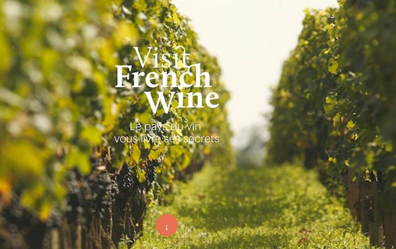 Le  portail Visit French Wine veut promouvoir l'oenotourisme auprès des visiteurs étrangers.