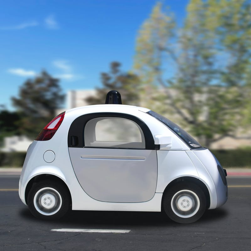 L'ordinateur de la Google Car est considéré comme le conducteur de la voiture