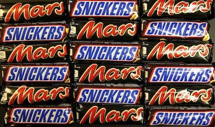 Rappel massif de barres chocolatées Mars, Snickers et de bonbons Celebrations