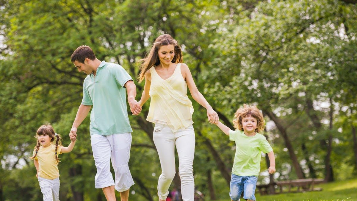 Un couple avec deux enfants a droit à trois parts fiscales.