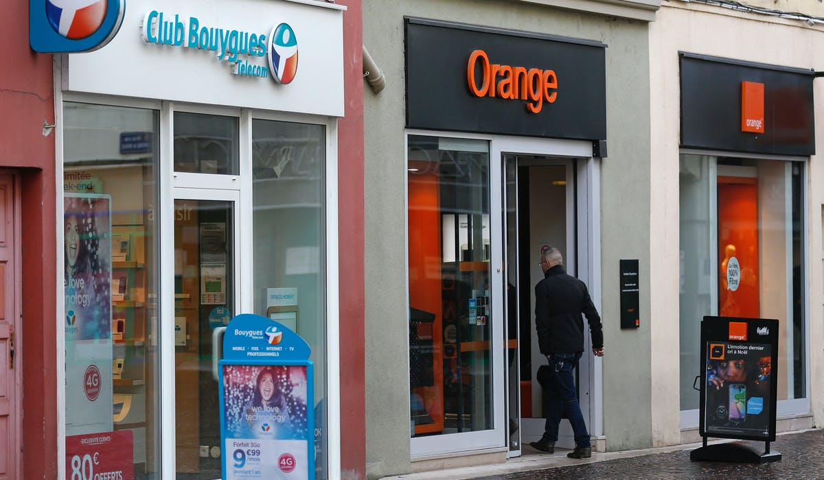 Orange dépasse Bouygues Telecom, SFR et Free Mobile.