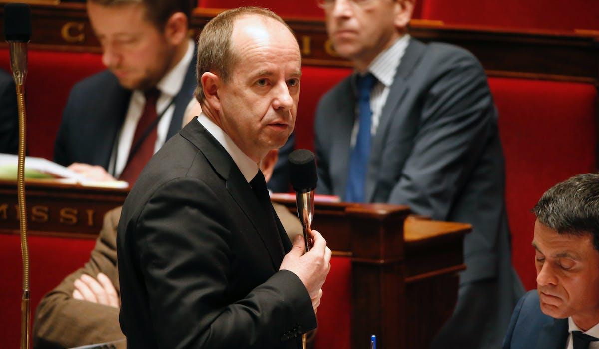 Jean-Jacques Urvoas en février à l'Assemblée nationale.