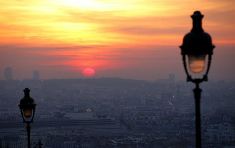 Paris au lever du soleil, vendredi 9 décembre.