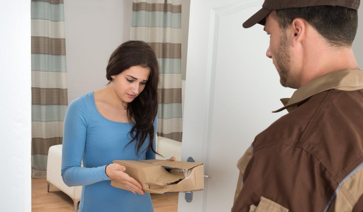 Si le produit livré est défectueux, vous pouvez adresser une réclamation au transporteur et au vendeur.