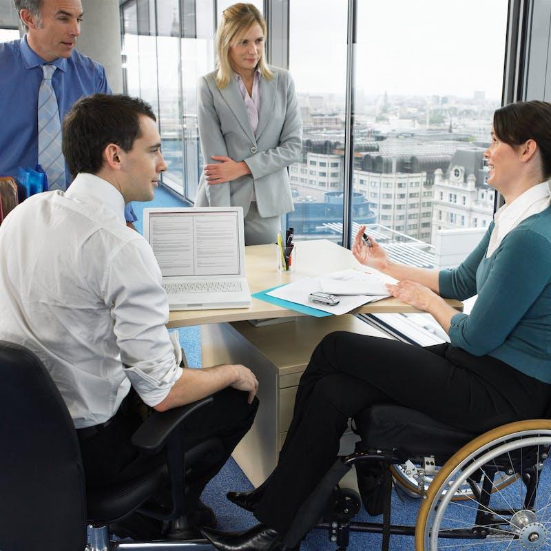 Travail : un nouveau dispositif pour accompagner les personnes handicapées
