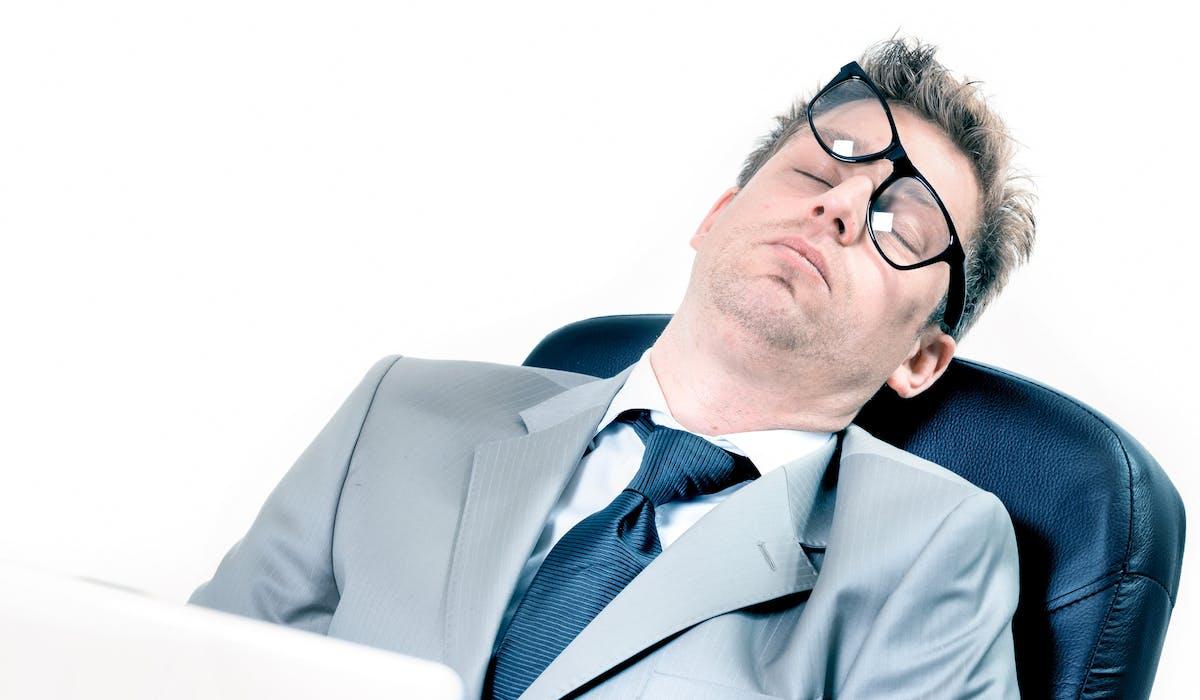 58 % des chefs d'entreprises estiment que la dégradation de leur santé est liée au stress