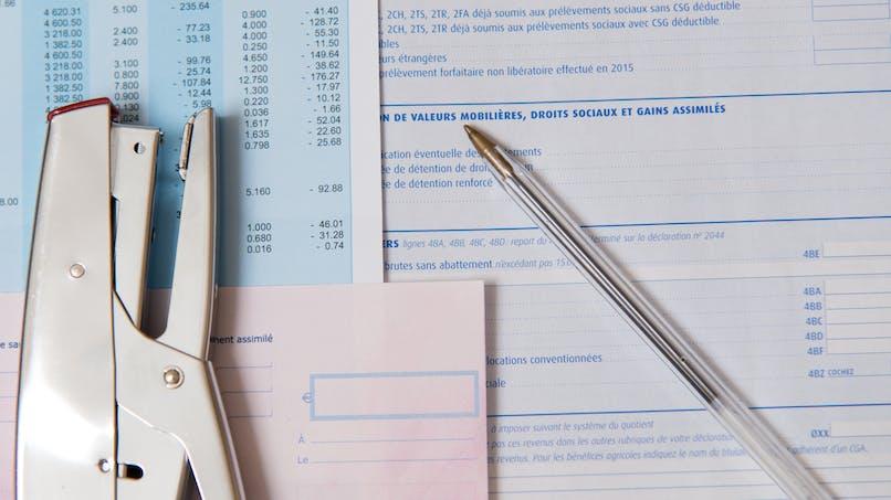 Déclaration d'impôts 2017