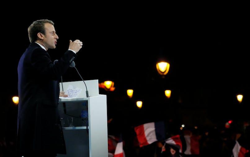 Emmanuel Macron doit succéder à François Hollande dimanche 14 mai.