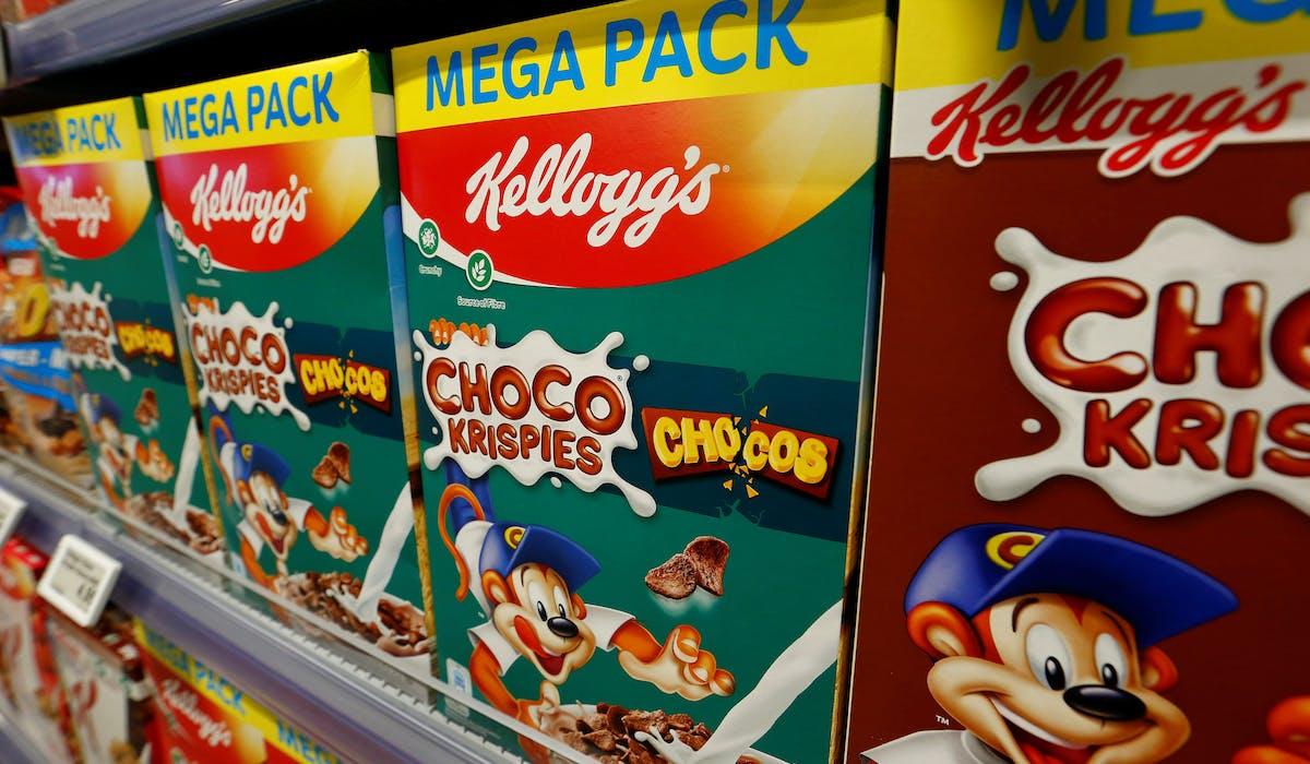 Les personnages célèbres sur les boîtes de céréales ou gâteaux pour enfants pourraient disparaître.