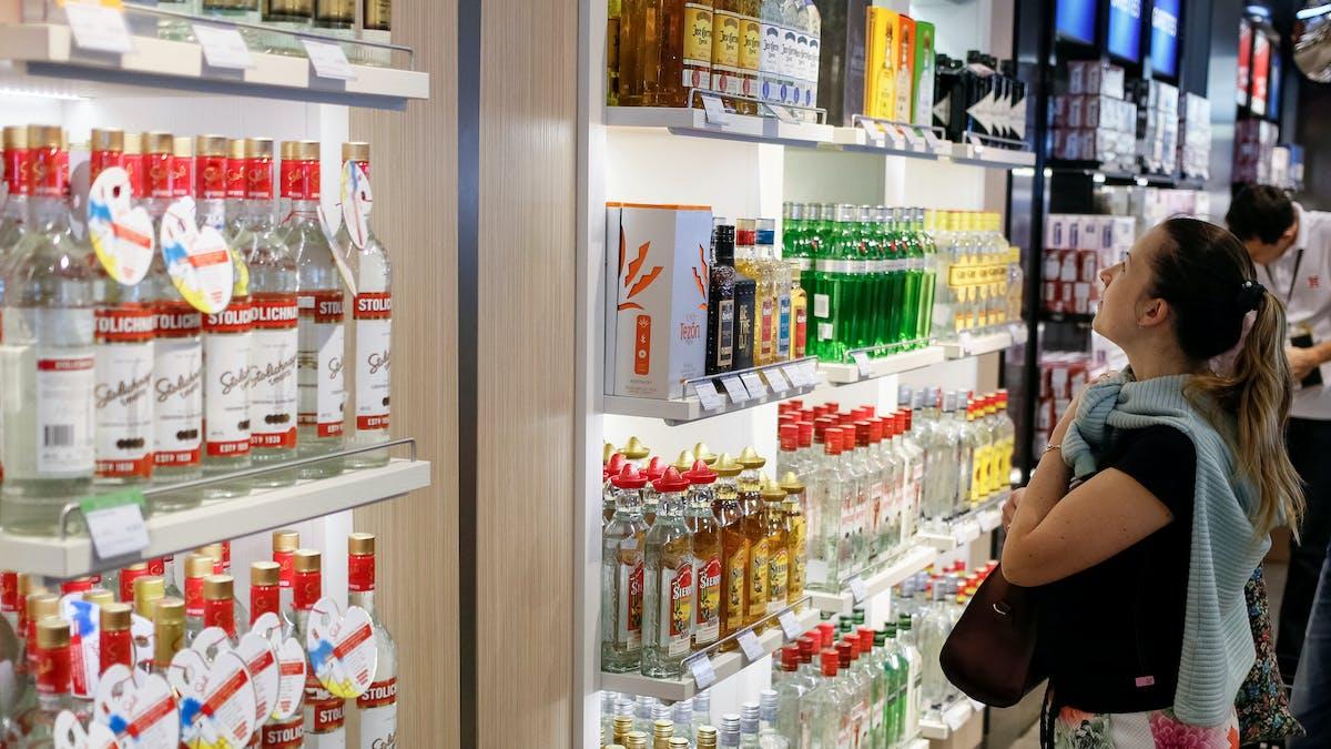 Attention aux quantités d'alcool que vous souhaitez rapporter de votre séjour à l'étranger.