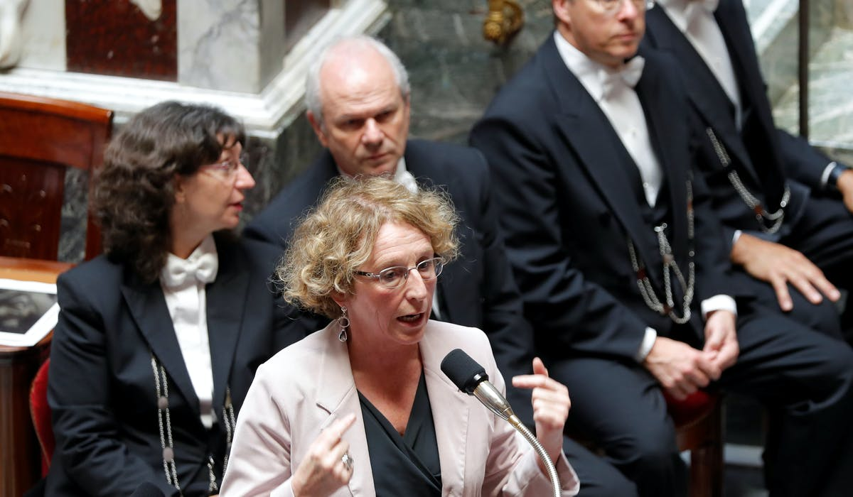 Muriel Pénicaud mardi 12 juillet à l'Assemblée nationale, durant la séance des questions au gouvernement.