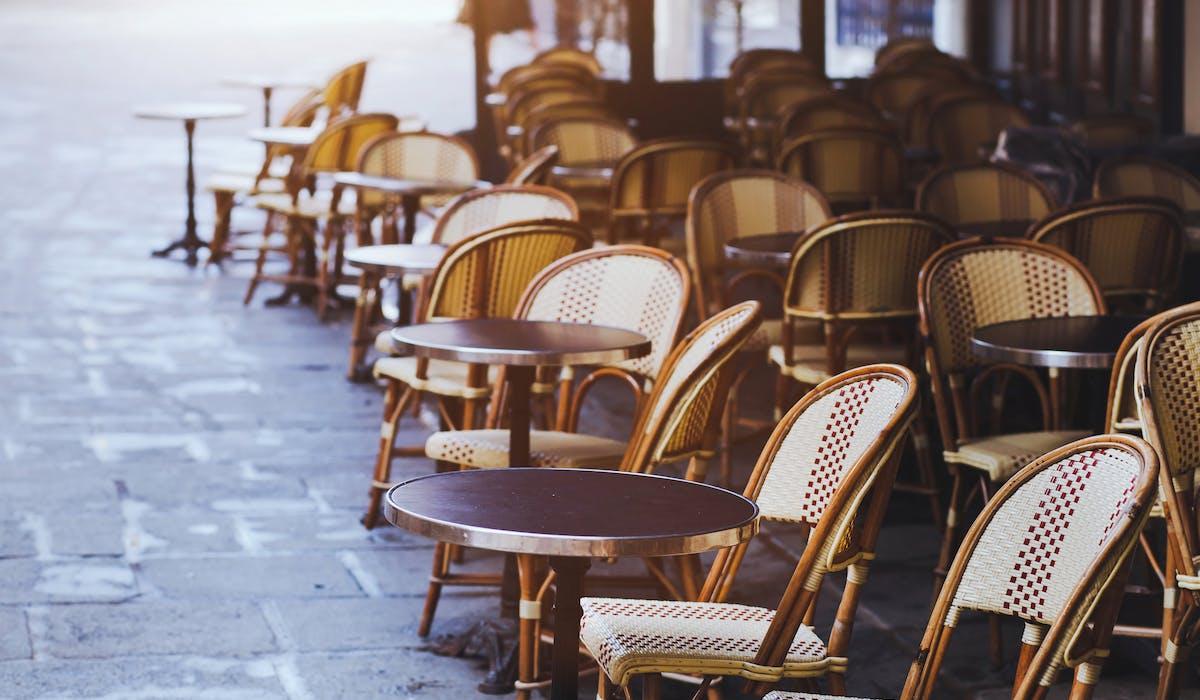 Droit de terrasse pour restaurants