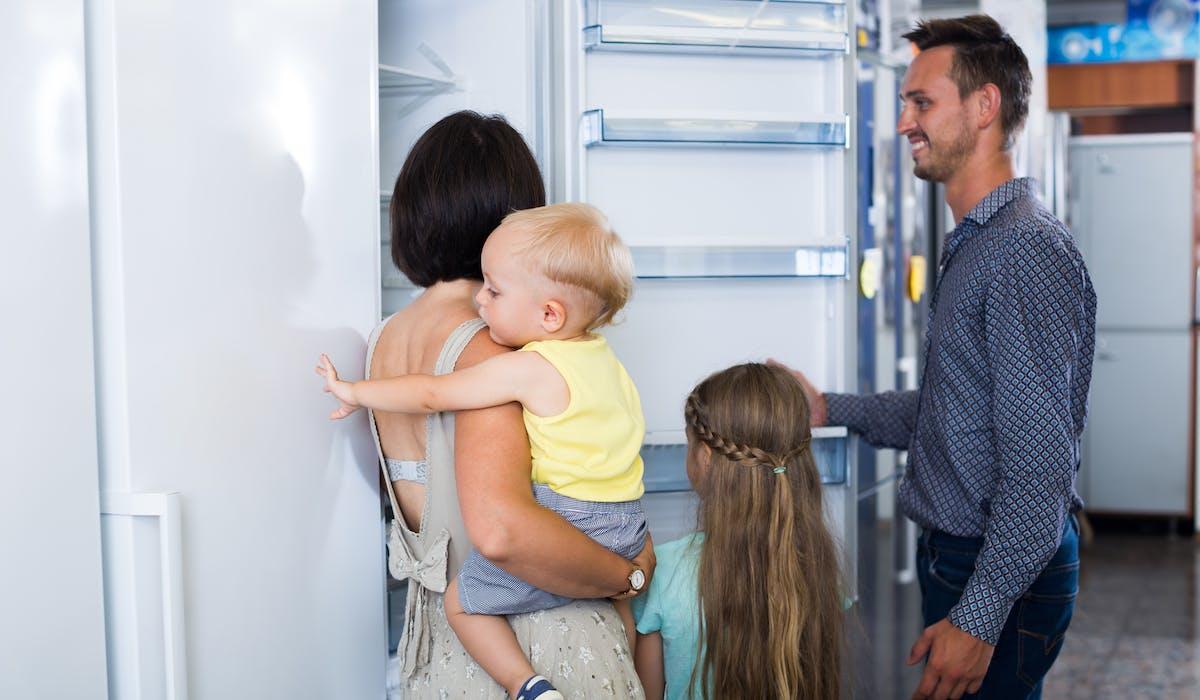 Un réfrigérateur classé A+++ est vendu en moyenne en France 937 euros.