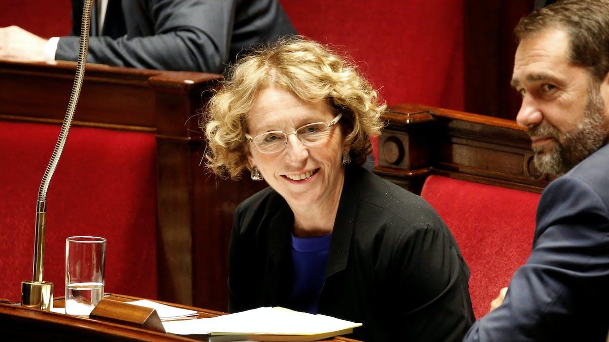 Muriel Pénicaud le 10 juillet, lors de l'ouverture des débats à l'Assemblée nationale sur le projet de loi.