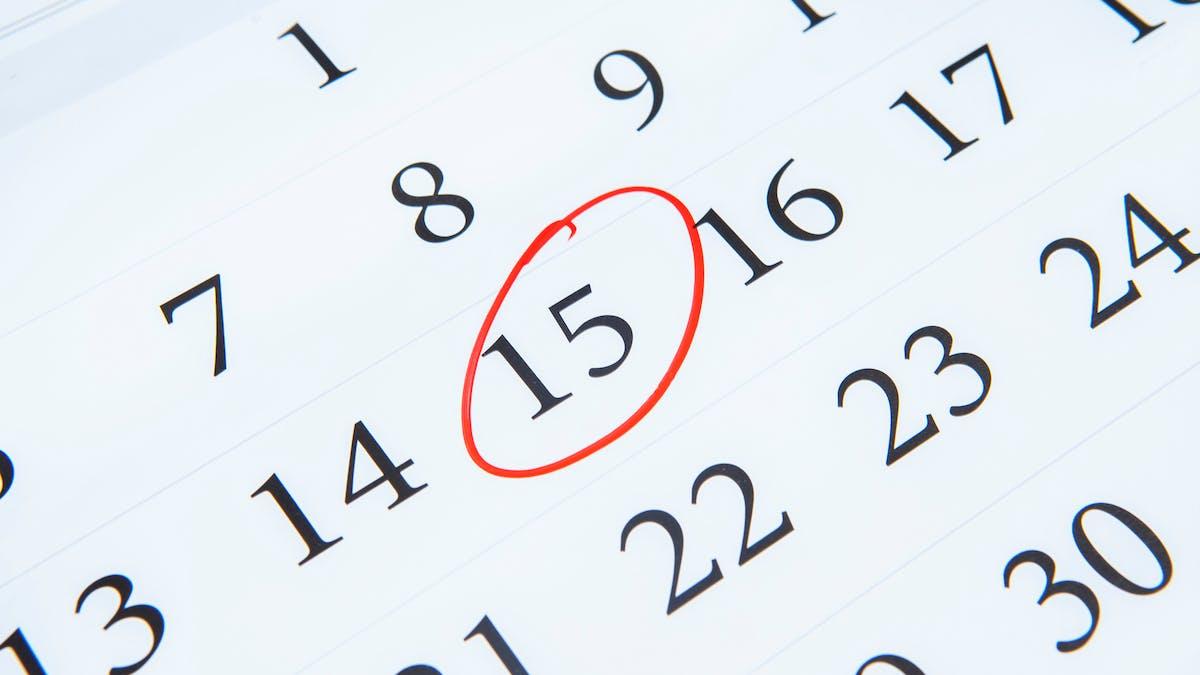 Les foyers ayant choisi le paiement par tiers de l'impôt sur le revenu doivent en principe s'acquitter du dernier acompte avant le 15 septembre ou, en cas de télépaiement, le 20.