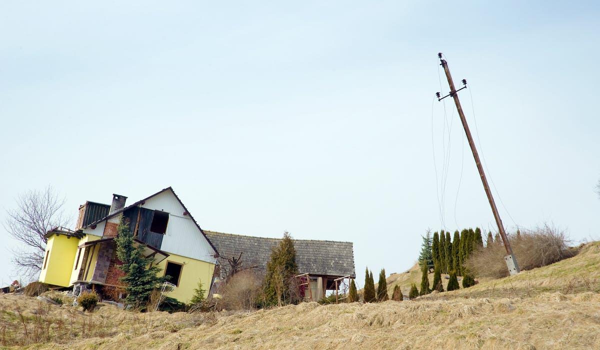 37 communes viennent d'être reconnues en état de catastrophe naturelle suite à des glissements de terrain en 2016.