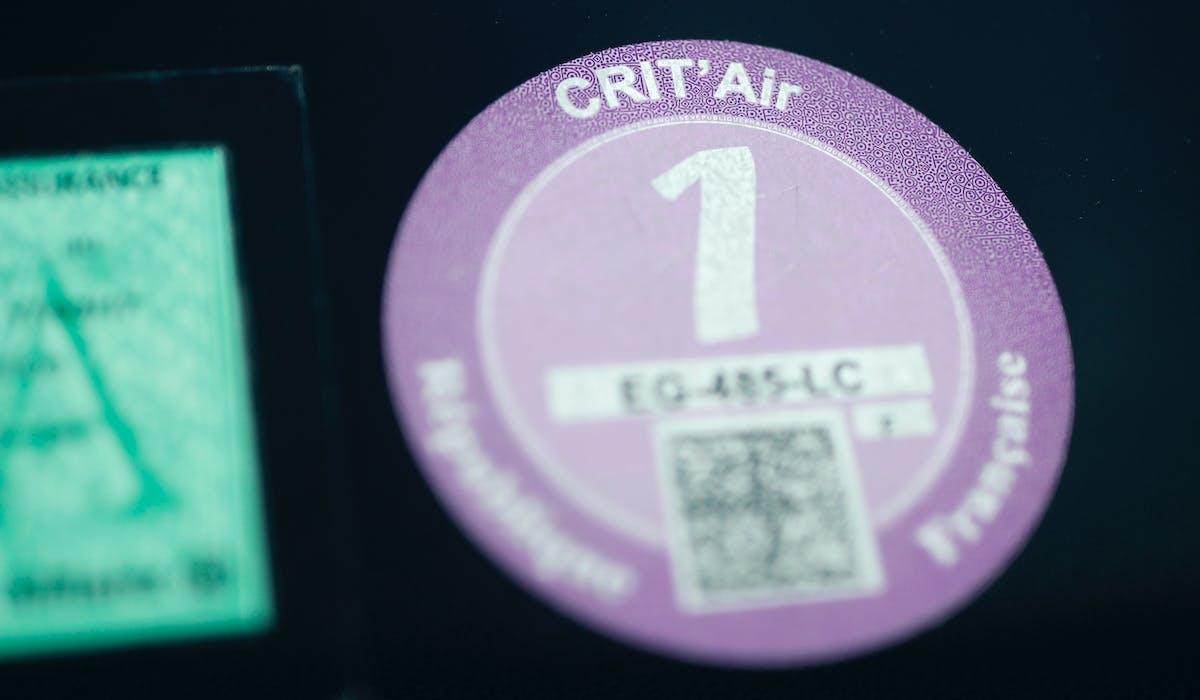 La pastille Crit'Air devient obligatoire à Annecy.