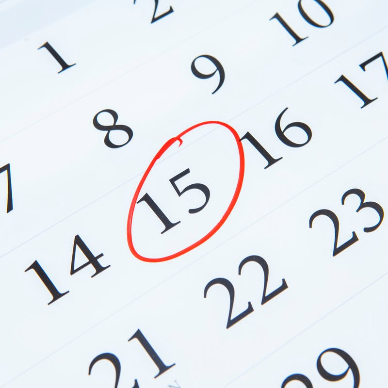 Impôts : votre calendrier fiscal de décembre