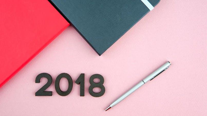 Le calendrier des jours fériés en 2018