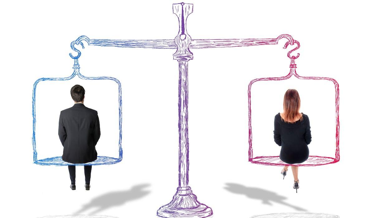 Les femmes gagnent en moyenne 9,9 % de moins que leurs collègues masculins, à conditions de travail identiques.