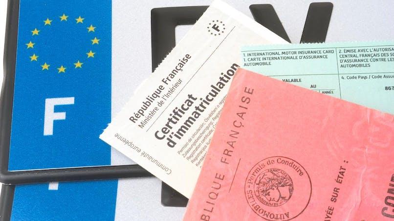 Certificat d'immatriculation: les taxes à régler en 2018