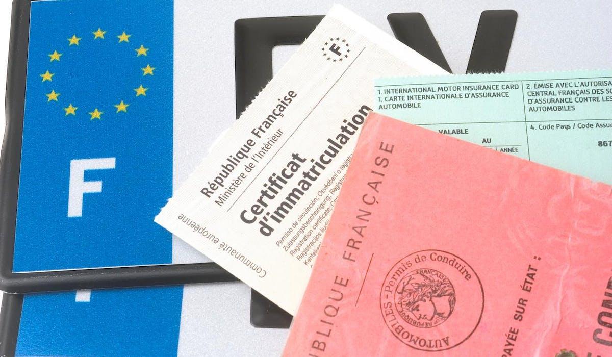 Certificat D Immatriculation Les Taxes à Régler En 2018