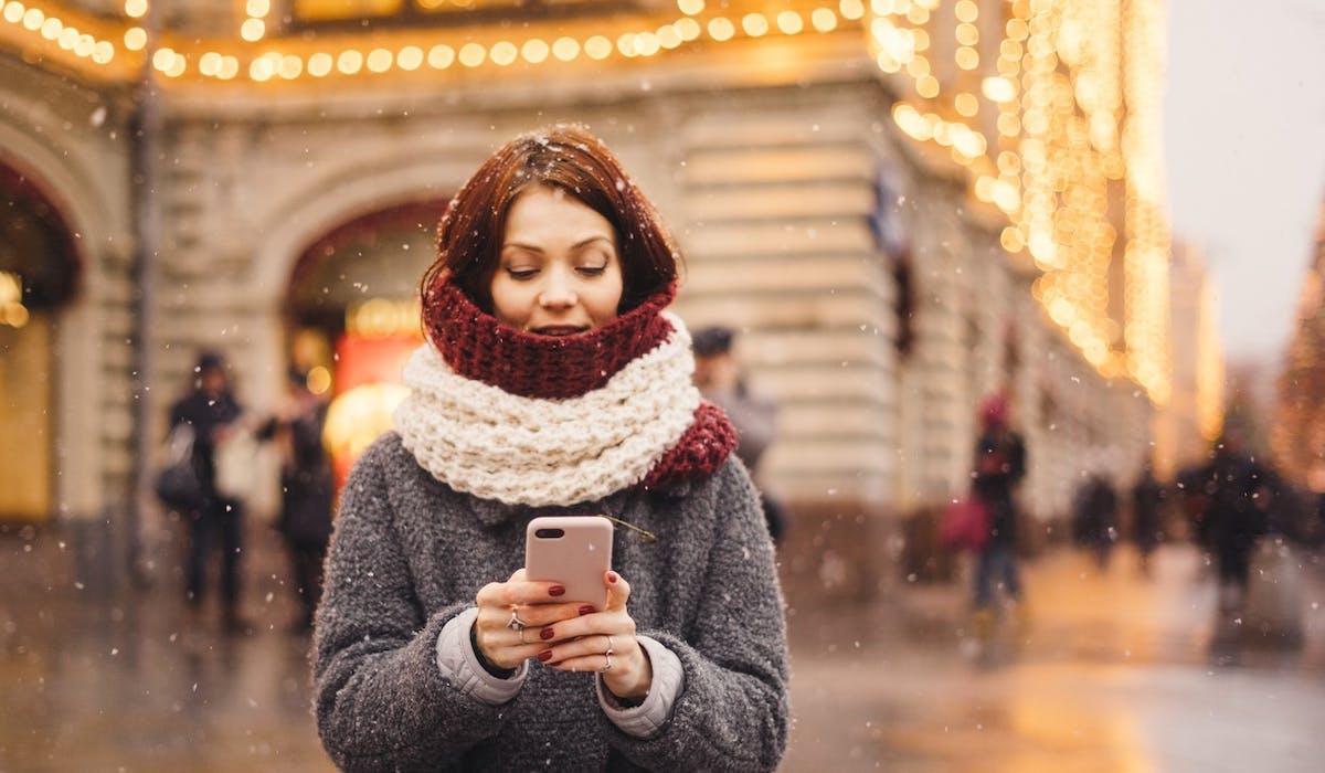 Lorsque les températures sont glaciales, il est conseillé de laisser son téléphone dans sa poche.