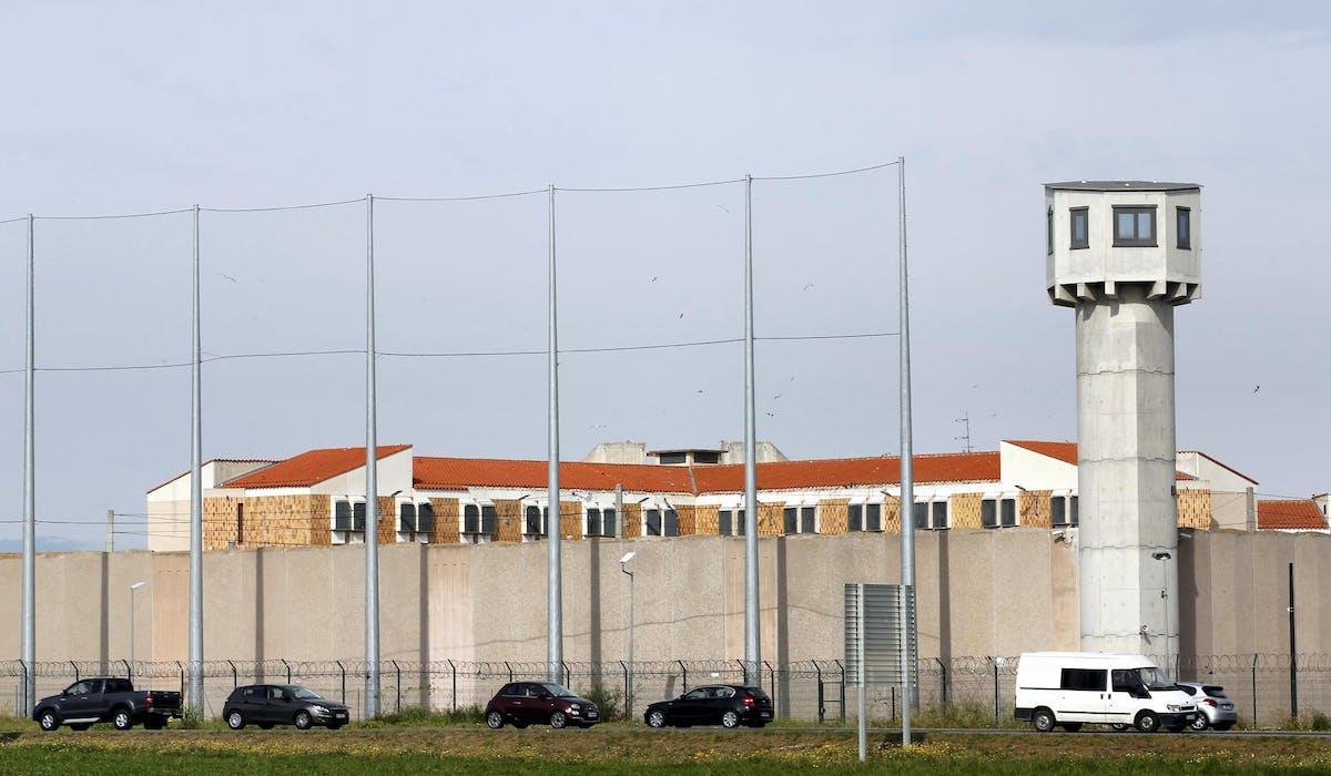 La prison de Perpignan, en avril 2017.