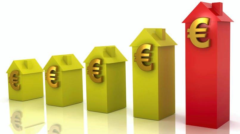 Les prix de l'immobilier poursuivent leur hausse dans les grandes villes