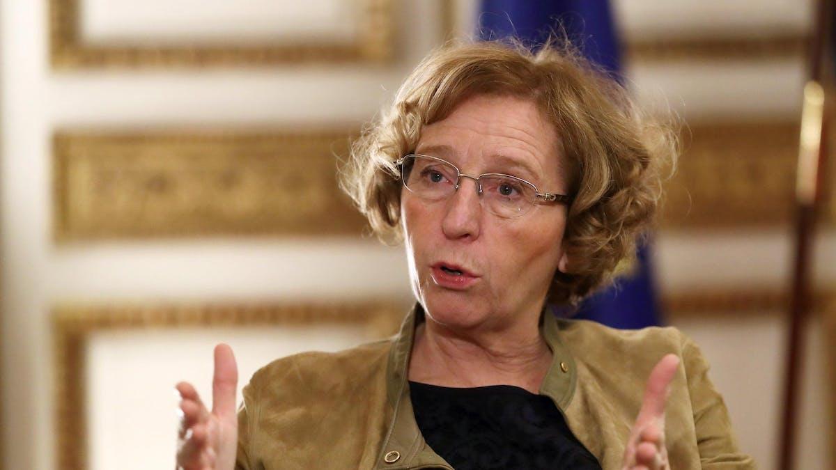 La ministre du Travail, Muriel Pénicaud, le 16 novembre 2017.