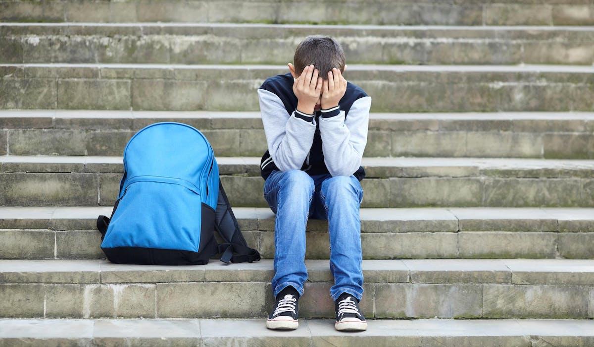 Un enfant harcelé préfère souvent taire sa souffrance.