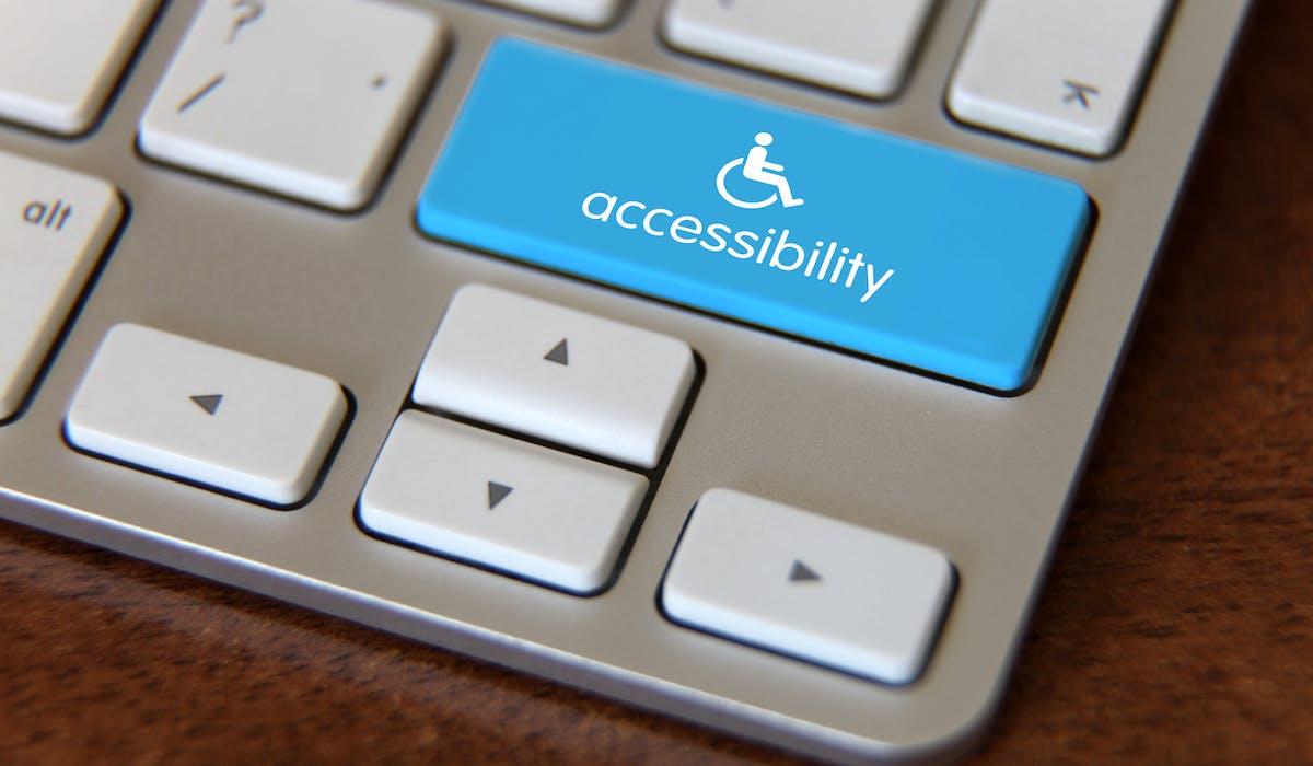 Le logiciel est capable d'adapter l'ergonomie d'un site Internet à 15 formes de handicap.