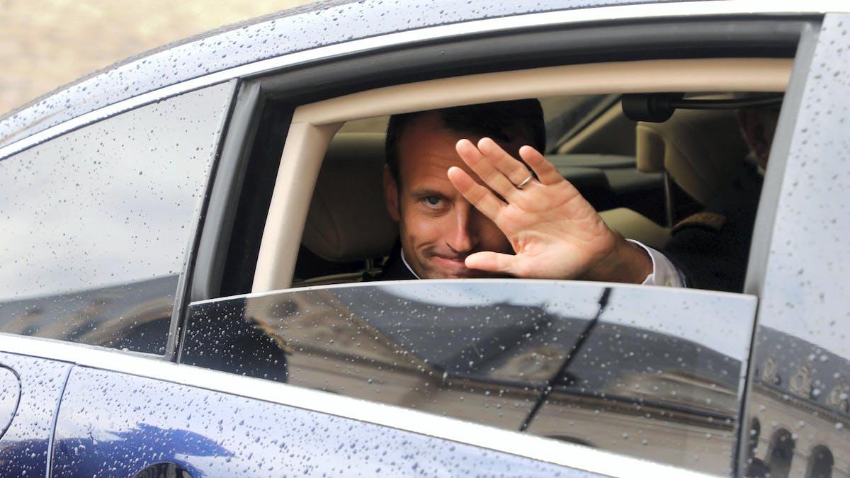 Emmanuel Macron à Paris, lundi 11 juin.