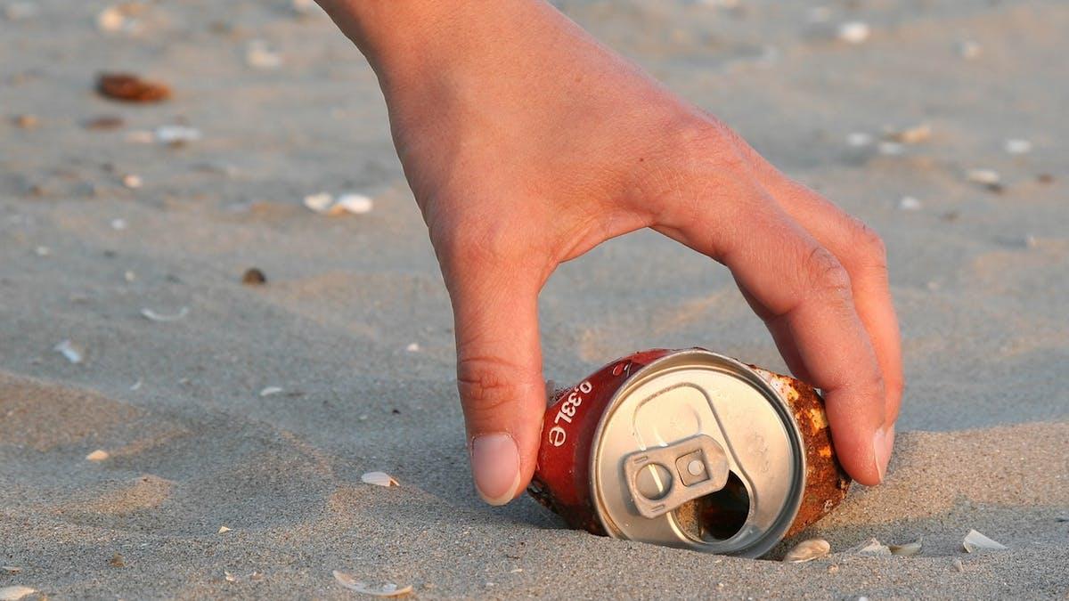 Vous pouvez participer à des opérations de nettoyage des plages.