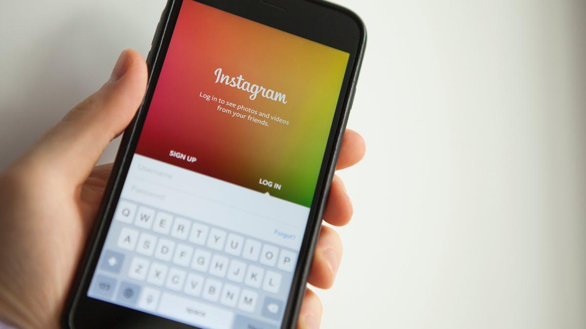 Il faut choisir un mot de passe complexe pour protéger son compte Instagram.