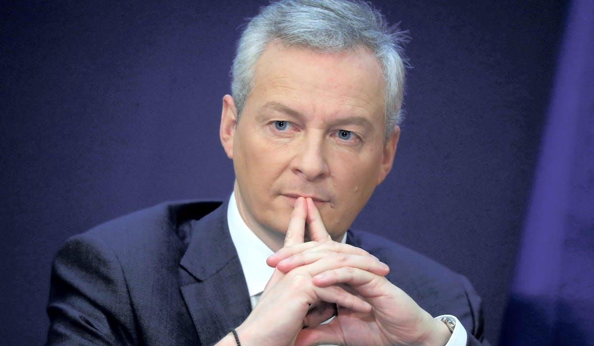 Bruno Le Maire, ici le 15 février à Bercy, porte le texte.