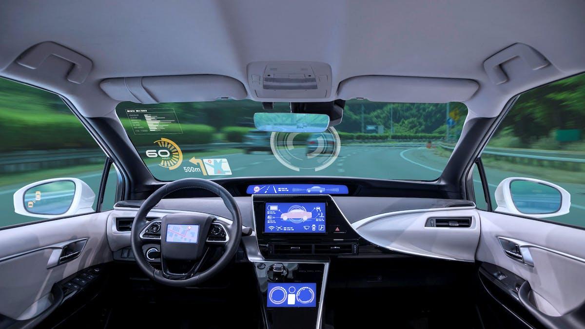 La circulation des véhicules autonomes pourra avoir lieu en dehors des voies réservées au transport public.